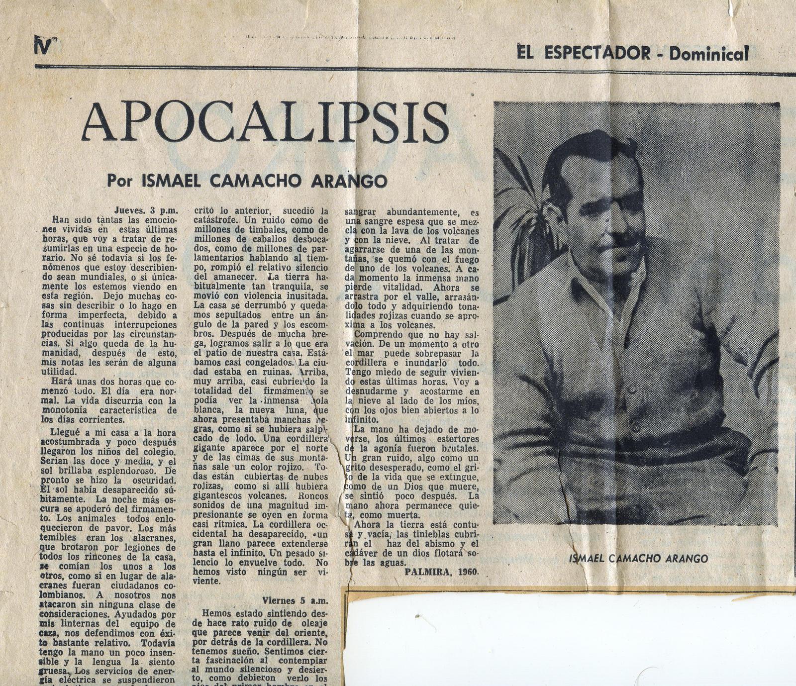 Apocalypses by Ismael Camacho Arango